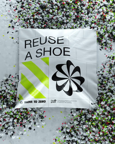Nike - Reuse a shoe - © Area of Work